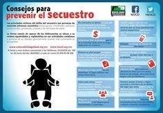 Consejos para prevenir el secuestro.