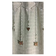 Single Swag with Alt Strands with Hearts and by ShowerCurtainBling, $120.00