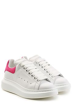 ALEXANDER MCQUEEN  Leather Sneakers | STYLEBOP.com