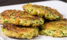 Taste this Authentic Italian Recipe, Potato&Zucchini Medallions are a tasty main dishes and they are made with. Zucchini Crab Cakes, Zucchini Patties, Zucchini Pancakes, Cucumber Recipes, Veggie Recipes, Vegetarian Recipes, Cooking Recipes, Italian Main Dishes, Cuisine Diverse