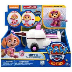 Race to the rescue with the Paw Patrol by collecting the entire line of Paw Patrol vehicles! Together your child's imagination will be lit up with pup inspired rescue missions full of friendship teamw