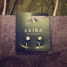 Akira Studs Two pairs of earrings! AKIRA Jewelry Earrings