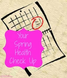 Your Spring Health Checkup