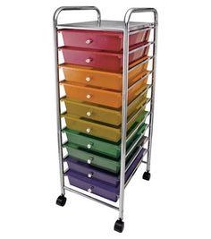 10 Drawer Rolling Organizer: Storage Drawers & Carts: storage: Shop | Joann.com