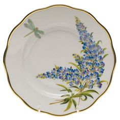 Salad Plate  Texas Blu