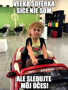 Blondýna z Londýna v červenom kabriolete #novyuces #detskekadernictvo #newstyle #hairstyle #blonde #driver #meme #girl #slovakia