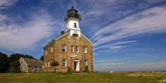 Accessible by ferry, this 10-room lighthouse now operates as a museum showcasing what life was like for 19th-century light keepers.   - CountryLiving.com