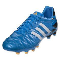 separation shoes 13584 f4894 botas, Adidas, Adipure 11Pro, 2014, 2015, azules, negras