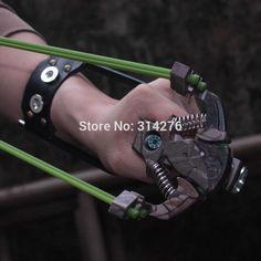 For Slingshot. Professional Hunting Slingshot with Wrist Brace. Hunting Arrows, Hunting Gear, Bow Hunting, Survival Weapons, Survival Gear, Survival Skills, Arrow Slingshot, Archery Tips, Man Gear