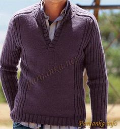 Sweater in black and purple, unusual knitting pattern for sweater, jumper in pink and black knit, dzemper crno i ciklama bordo, pleteni dzemper sa neobicnom sarom Outfits Casual, Mode Outfits, Hooded Sweatshirts, Hoodies, Mens Jumpers, Knitting Designs, Stylish Men, Baby Knitting, Men Sweater
