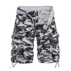 Camouflage Camo Cargo Shorts Men 2019 New Mens Casual Shorts Male Loose Work Shorts Man Military Short Pants Gym Clothing Khaki. Work Shorts, Camo Shorts, Casual Shorts, Men Shorts, Work Casual, Men Casual, Military Shorts, Plus Size Brands, Cargo Pants Men