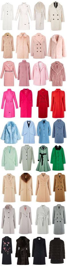 ♪ƸӜƷ❣ ♛♪ Sg33¡¡¡ ✿ ❀¸¸¸.•*´¯`SweEts ¡¡¡ ✿winter coats for women 2017 - selection of winter coats in a rainbow of colours