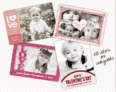 valentines personalized cards