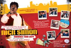 #latinpop #tocamebailando tour estate 2014 #NickSimon @Nick Simon