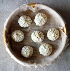Steamed Shanghai Soup Dumplings (Xiaolongbao), by thewoksoflife.com