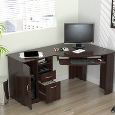 Found it at Wayfair - Computer Desk with Shelf