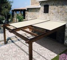 patio cover, retractable cover by EmmyB