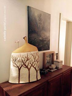 Nuove Dimore Paper Clay Art, Paper Mache Clay, Paper Mache Sculpture, Pottery Sculpture, Sculpture Art, Clay Clay, Kintsugi, Ceramic Sculpture Figurative, Organic Ceramics