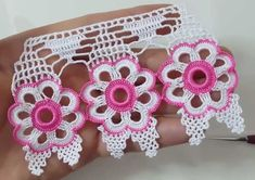 Manufacture of floral towels Crochet Bedspread, Crochet Curtains, Crochet Doilies, Crochet Flowers, Crochet Lace, Fabric Flowers, Crochet Borders, Crochet Squares, Crochet Stitches