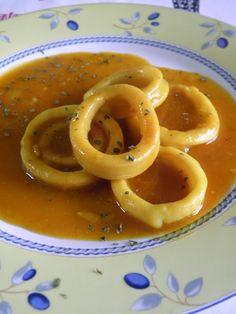 En la Cocina de Amama: Calamares en Salsa de Vino Blanco