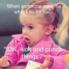 TKD is fun....