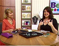 Enjoyed my Create & Craft TV show to launch my 9th book: Hammered Wire Jewellery (16/2/2016)