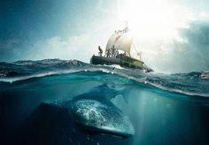 Épico histórico, Expedição KonTiki é baseado na viagem do navegador norueguês Thor Heyerdahl e narra os 101 dias no mar em cima de uma jangada (Foto: Divulgação)