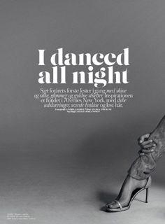 Dance all night.