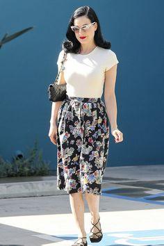 Everyday Starlet: Getting into Costume: A Starlet's Wardrobe Basics- Dita Von Teese