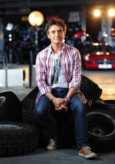 "I introduce you to one Mr. Richard Hammond of Top Gear UK. Aka my new ""Englishman"" crush. ;)"