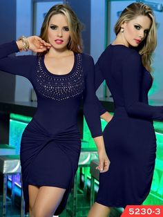 Vestido Moda Colombiana Thaxx Ref. 107 -5230-3