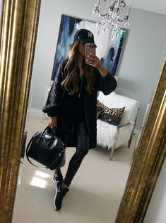 10 In Stock Outfits From The Nordstrom Anniversary Sale - Spanx Leather Leggings Sporty Outfits, New Outfits, Fashion Outfits, Girly Outfits, Women's Fashion, Spanx Leather Leggings, Leggings Are Not Pants, Leather Pants, Nordstrom Anniversary Sale