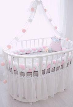 Бортики в кроватку. Декор детской комнаты. Детский текстиль.