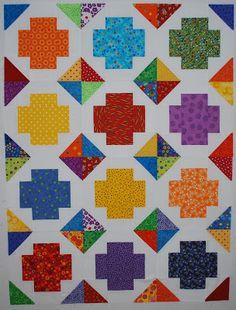 Double Nickel Quilts: Crosswise quilt