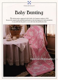Baby Bunting   Best Loved Quilt Pattern w/ Flexible Plastic Templates