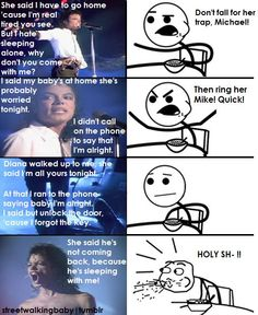LOL FINETLY someone sees it Dirty Diana best story ever