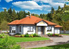 Projekat atraktivne prizemne kuće s garažom – G4