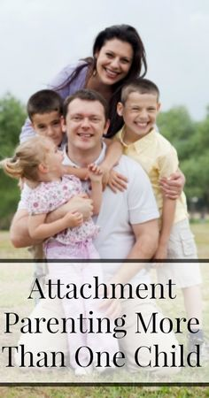 Tips for Attachment Parenting with More Than One Child {Tips for Moms}