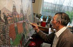 Norman Cornish, who died in was the last surviving member of the Pitman's Academy Sunderland University, Norman Cornish, Newcastle University, North East England, Survival, Paintings, Drawings, Artist, People