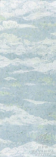 Cloud mosaic panel by New Ravenna