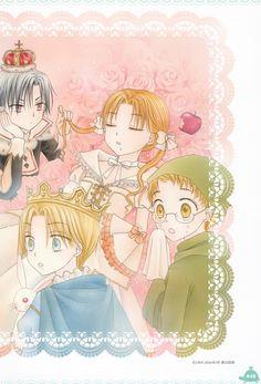 Tachibana Higuchi, Gakuen Alice, Gakuen Alice Illustration Fan Book, Yuu Tobita, Mikan Sakura