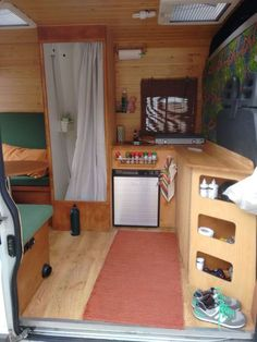 Majestic 23 Awesome Camper Van Conversions That'll Inspire You https://decoratoo.com/2017/10/06/23-awesome-camper-van-conversions-thatll-inspire/ Because the rear of the van is windowless, now's the opportunity to consider ventilation. Use low superior glue and you'll have your work peeling off right away.