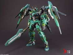 "Custom Build: MG 00 Raiser ""GN Overdrive"" - Gundam Kits Collection News and Reviews"
