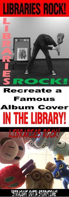 "Tween Programming–Album Art Photo Contest (""Libraries Rock"" SRP 2018) – The Lego Librarian"