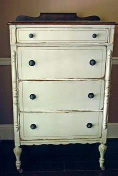 Idea for revamping Robert's childhood dresser