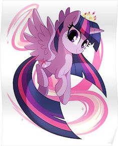 'Twilight Sparkle' Throw Pillow by Pepooni My Little Pony Twilight, Mlp My Little Pony, My Little Pony Friendship, Rainbow Dash, Princesa Twilight Sparkle, Dessin My Little Pony, My Little Pony Wallpaper, Little Poni, Imagenes My Little Pony