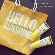 Make your blonde, Blonde with John Frieda  #Giveaway