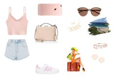 """""""Untitled #218"""" by xolafkax on Polyvore featuring Topshop, adidas, Mark Cross, Ted Baker and Witchery"""
