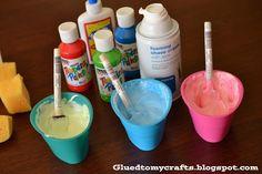 A few toddler crafts