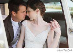 bride and groom vintage portrait session, super romantic, super dreamy